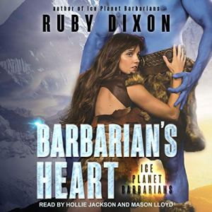 Barbarian's Heart audiobook cover art