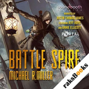 Battle Spire: A Crafting LitRPG Book audiobook cover art