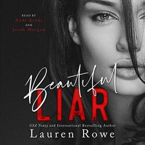 Beautiful Liar audiobook cover art