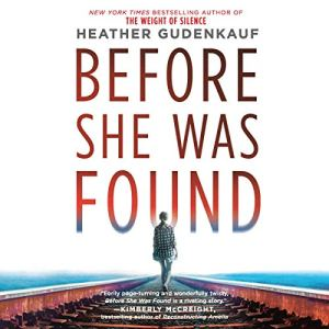 Before She Was Found audiobook cover art