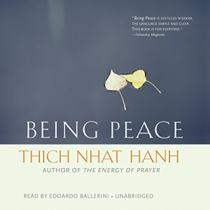 Being Peace audiobook cover art