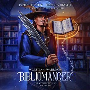 Bibliomancer audiobook cover art