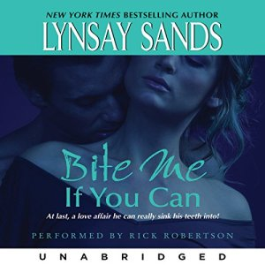 Bite Me If You Can audiobook cover art