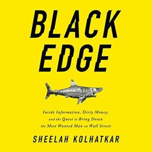 Black Edge audiobook cover art