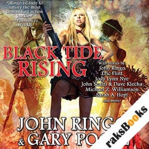 Black Tide Rising audiobook cover art
