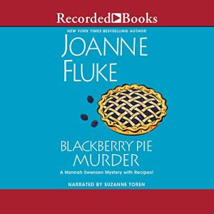 Blackberry Pie Murder audiobook cover art