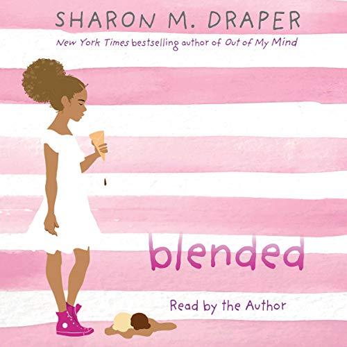 Blended audiobook cover art