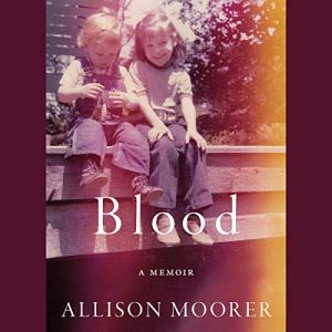 Blood audiobook cover art