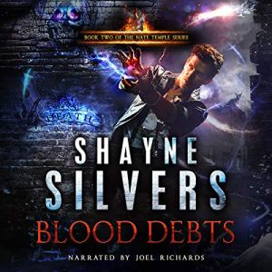 Blood Debts audiobook cover art