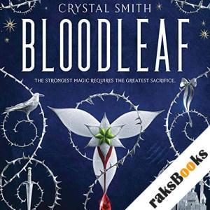 Bloodleaf audiobook cover art