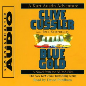 Blue Gold audiobook cover art