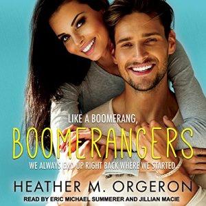 Boomerangers audiobook cover art
