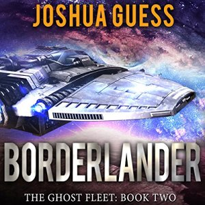 Borderlander audiobook cover art