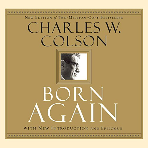 Born Again audiobook cover art