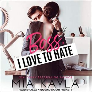 Boss I Love to Hate audiobook cover art