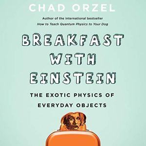 Breakfast with Einstein audiobook cover art