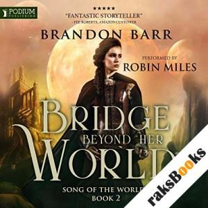 Bridge Beyond Her World audiobook cover art
