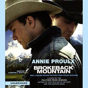Brokeback Mountain audiobook cover art