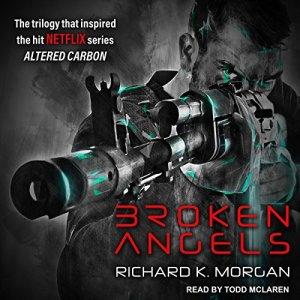 Broken Angels audiobook cover art