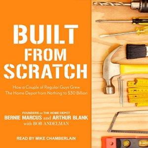 Built from Scratch audiobook cover art