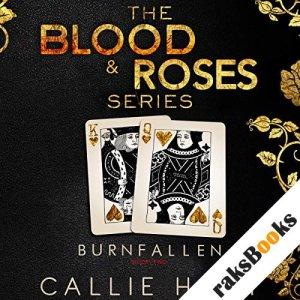 Burn & Fallen audiobook cover art