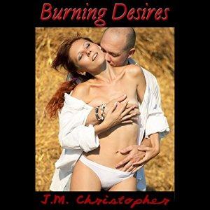 Burning Desires audiobook cover art