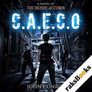 C.A.E.C.O. audiobook cover art