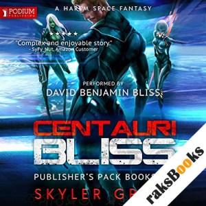 Centauri Bliss: Publisher's Pack audiobook cover art