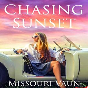 Chasing Sunset audiobook cover art