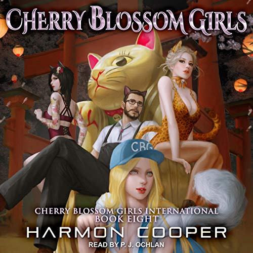 Cherry Blossom Girls International 8 audiobook cover art