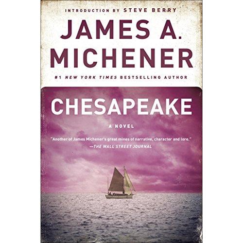 Chesapeake audiobook cover art