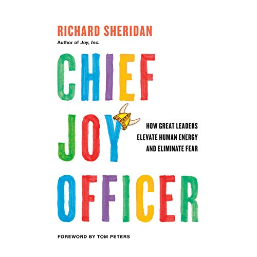Chief Joy Officer audiobook cover art