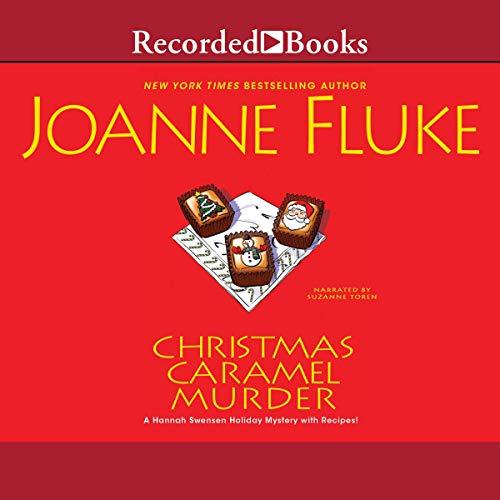Christmas Caramel Murder audiobook cover art