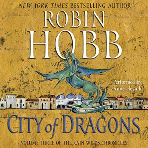 City of Dragons audiobook cover art