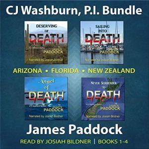 CJ Washburn, P.I. Bundle: Books 1-4 audiobook cover art