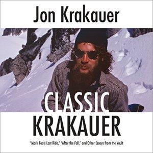Classic Krakauer audiobook cover art