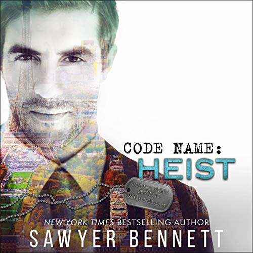 Code Name: Heist audiobook cover art