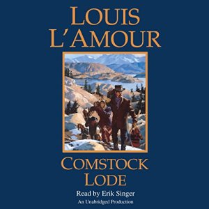 Comstock Lode audiobook cover art