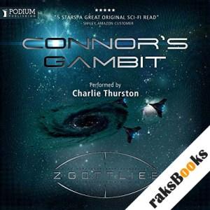 Connor's Gambit audiobook cover art