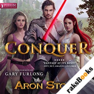 Conquer audiobook cover art