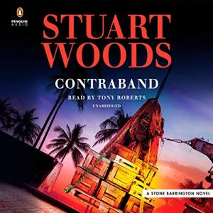 Contraband audiobook cover art