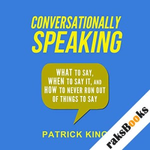 Conversationally Speaking audiobook cover art