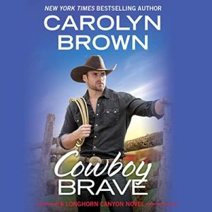 Cowboy Brave audiobook cover art