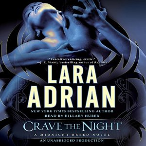 Crave the Night audiobook cover art