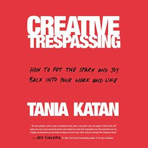 Creative Trespassing audiobook cover art