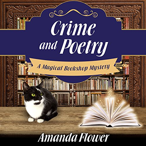 Crime and Poetry audiobook cover art