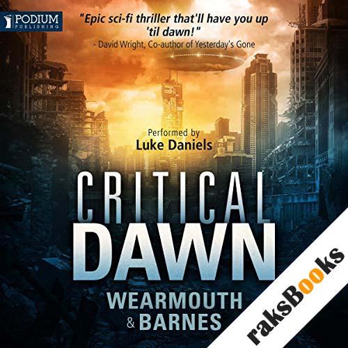 Critical Dawn audiobook cover art