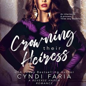 Crowning Their Heiress audiobook cover art
