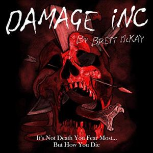 Damage Inc. audiobook cover art