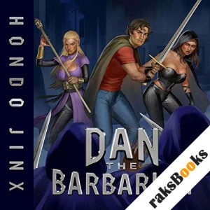 Dan the Barbarian audiobook cover art